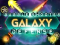 Гульні Bubble Shooter Galaxy Defense