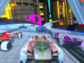 Гульні Cyber Cars Punk Racing
