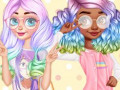 Гульні Princesses Kawaii Looks and Manicure