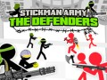 Гульні Stickman Army: The Defenders