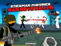 Гульні Stickman Maverick: Bad Boys Killer