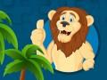 Гульні Strong Lions Jigsaw